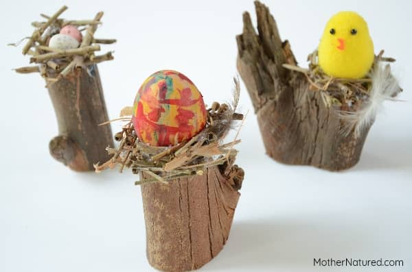 Easter bird nest craft