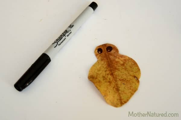 Cut Leaf - Love bug craft