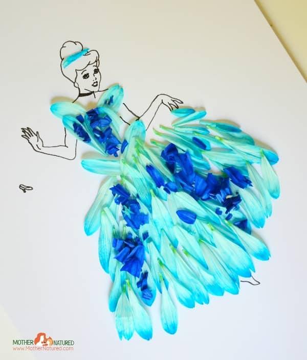 Cinderella nature craft