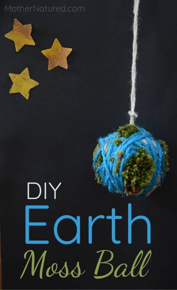 DIY Earth Moss Ball