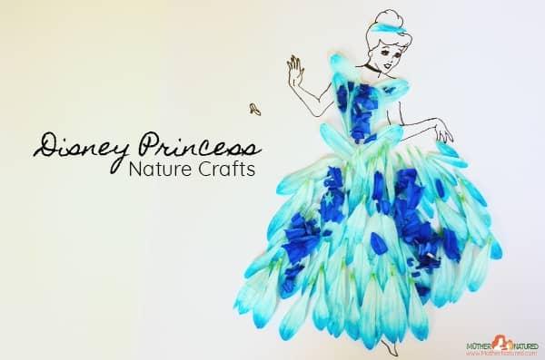 Disney Princess Nature Crafts