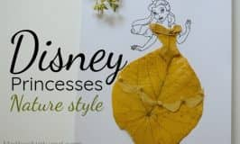 Disney Princess Dress Ups – Nature style
