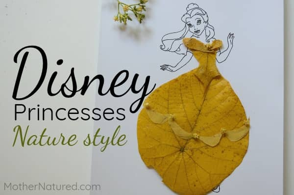 Disney Princess nature craft