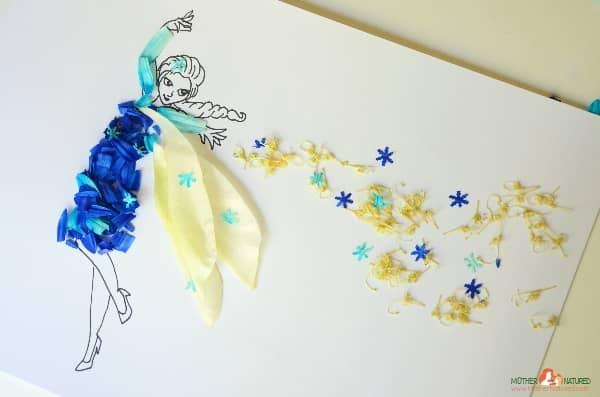 Princess nature craft