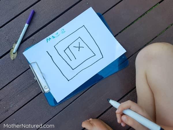 Create a maze map