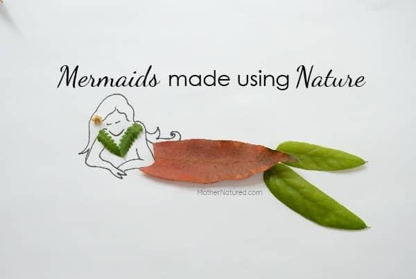 Leaf mermaid tails