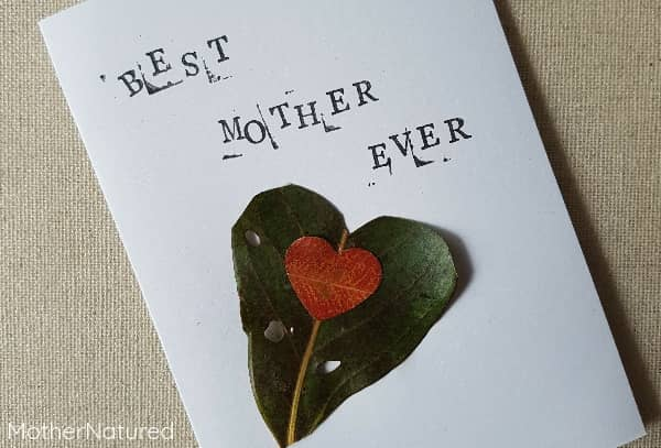 Mother's Day Nature Card