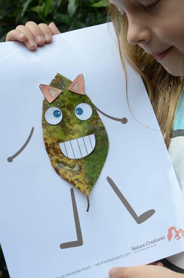 Creative nature crafts