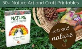 30+ Nature Art and Craft Printables