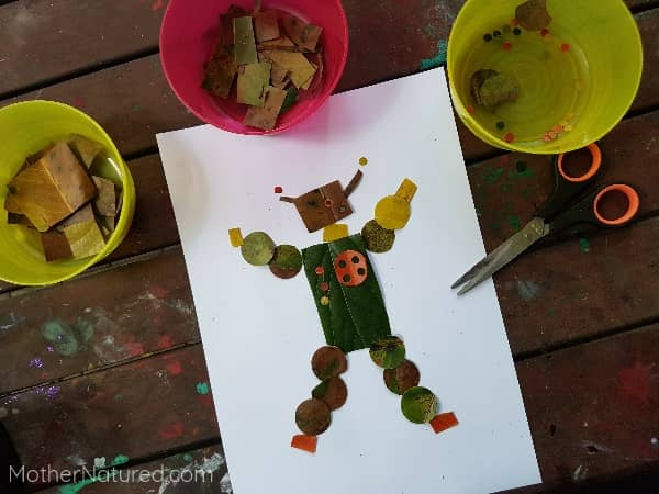 Leaf Robot Craft - Fall Craft