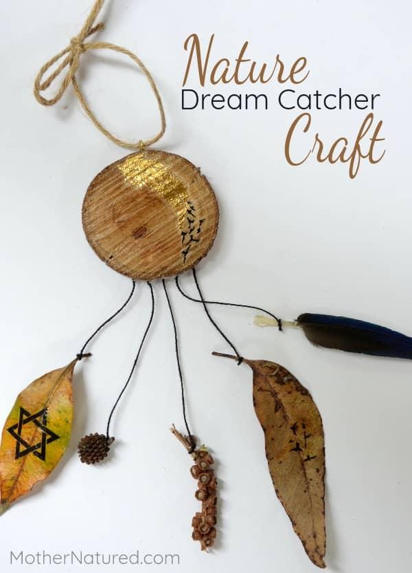 Nature Dreamcatcher Craft