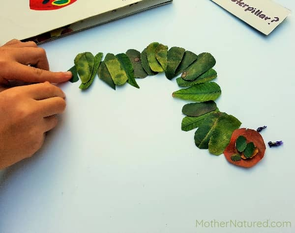 Hungry Caterpillar Art for kids