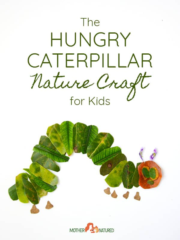 Hungry Caterpillar Nature Craft