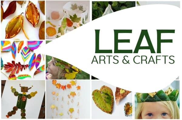 Leaf Arts and Crafts for Kids