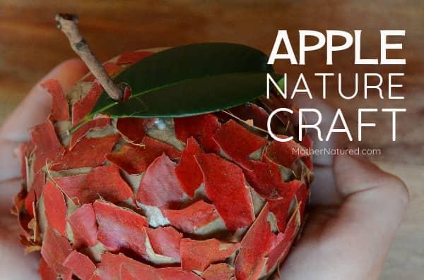 Apple Nature Crafts