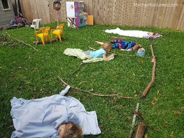 stick house for kids