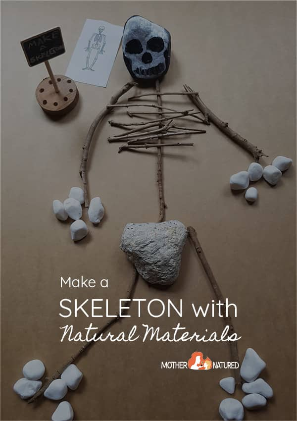 Make a skeleton with sticks