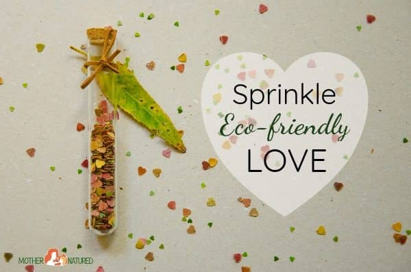 You'll fall in love with this DIY eco-friendly confetti!