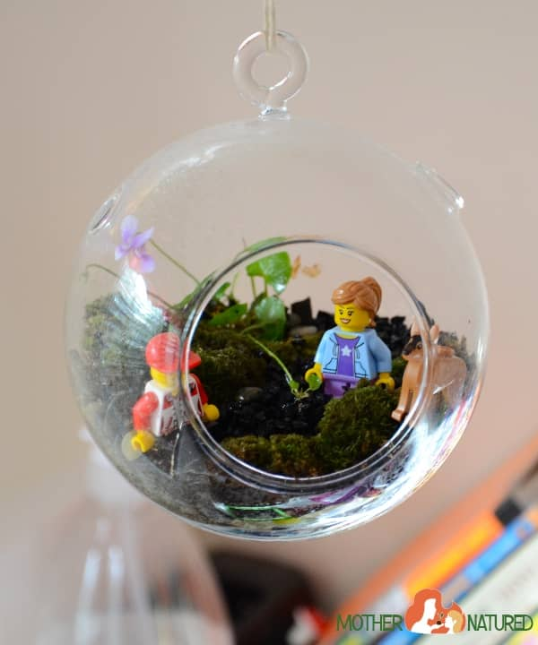 LEGO Terrarium for kids