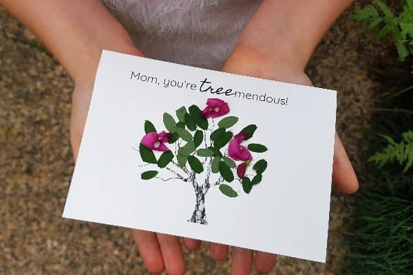 The Simple Mother's Day Nature Cards Kids Will Love to Make