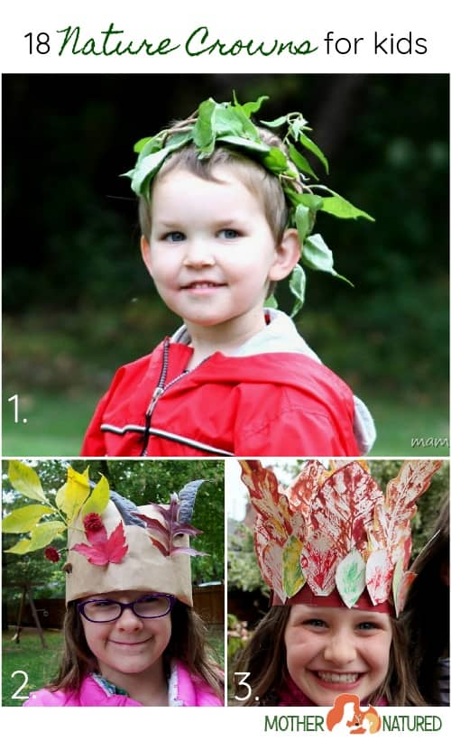 Nature Crowns for kids