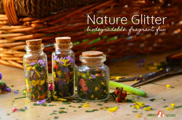 DIY Biodegradable glitter