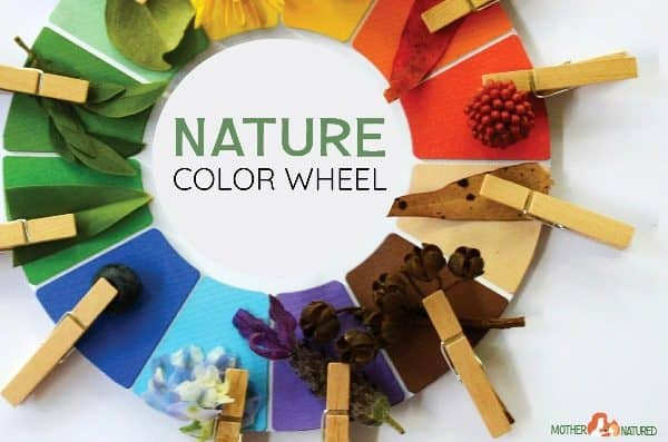 Totally Awesome FREE Nature Color Wheel Printable
