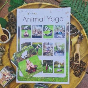 Animal Yoga Cards for Kids