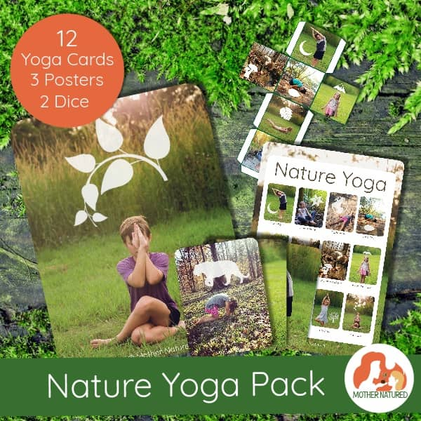 Nature Yoga Cards for kids