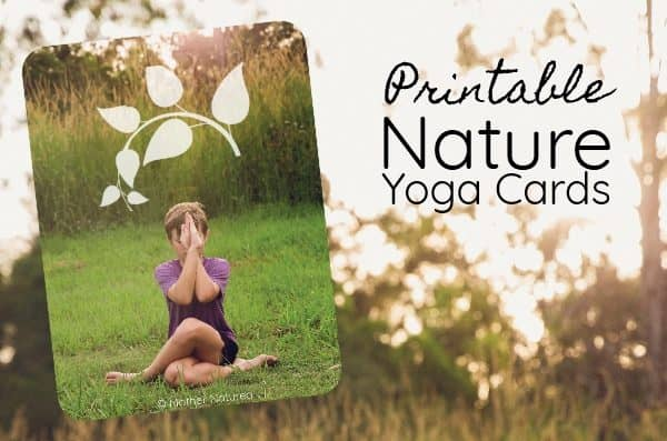 Nature Yoga Cards for Calming Active Kids