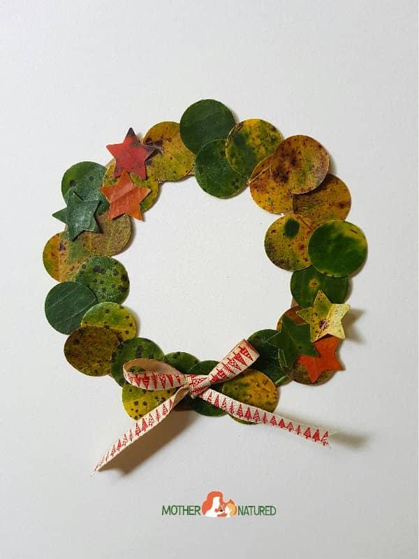 Simple Leaf Wreath