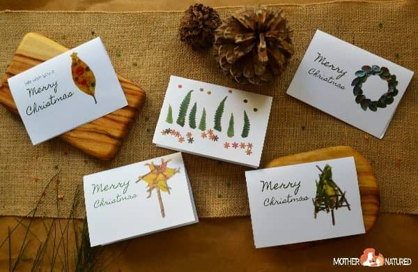 Stunning Printable Nature Christmas Cards and Gift Tags