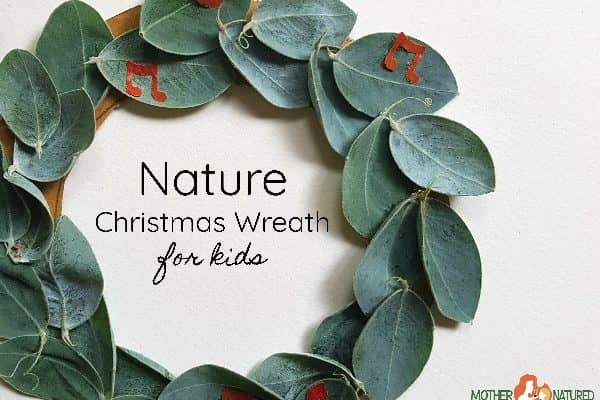 Christmas Leaf Wreath Ideas for kids that are Stunningly Simple!