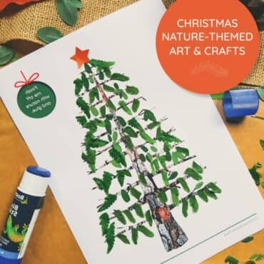 Christmas Nature Crafts for Kids