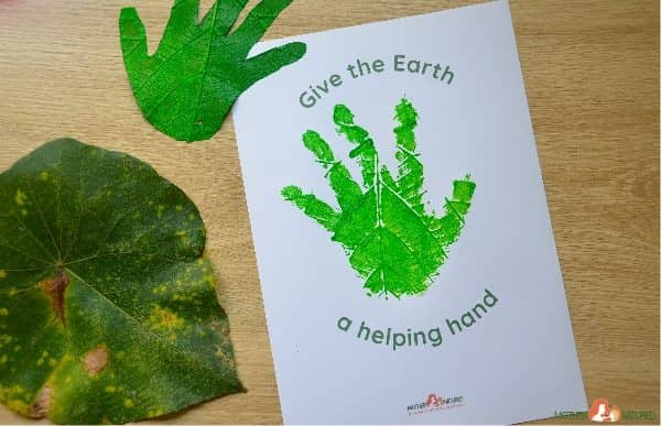 The Earth Day Handprint Craft Kids Will Go Wild For!