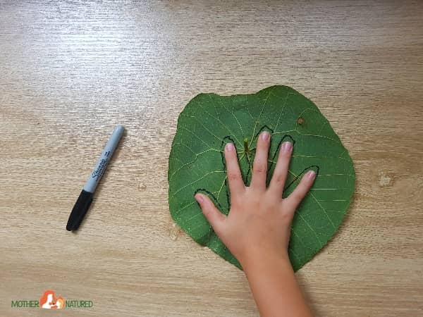 Hand Earth Day Activity
