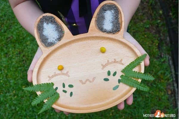 The Wooden Bunny Plate your Kids will go WILD for!