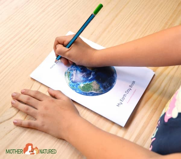 Earth Day Booklet Printable