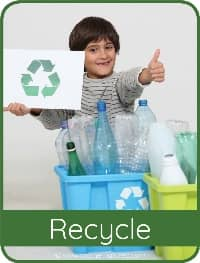 Recycling card for Kids
