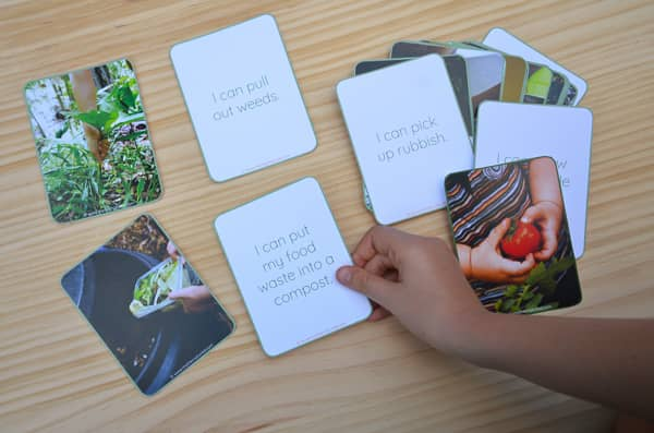 Sustainability Cards for kids