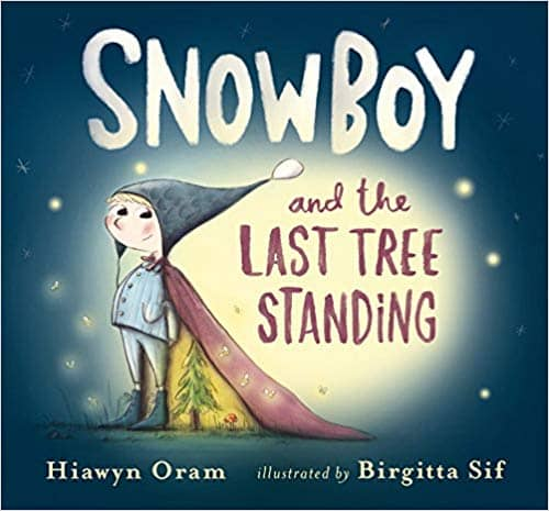 Snow boy and the last tree standing