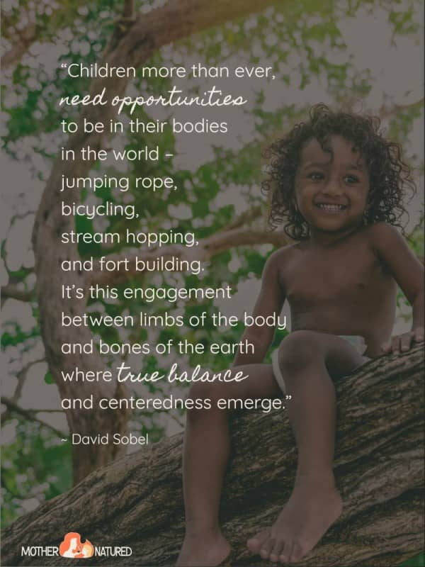 50 Inspirational Quotes About Children And Nature Mother Natured