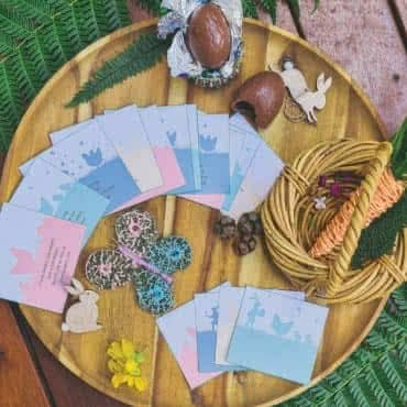 Outdoor Easter Hunt Cards