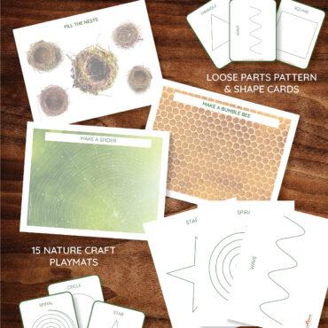 Loose Parts Printable Bundle